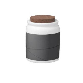 Balck Aristo Candy Jars
