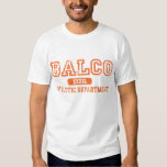 BALCO ATHLETIC DEPARTMENT TEE SHIRTS