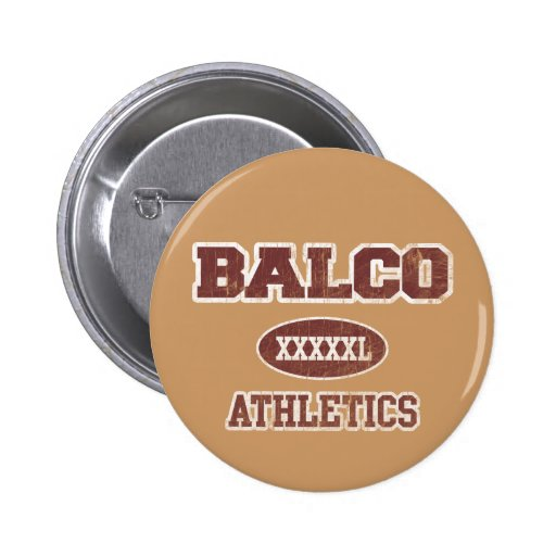 Balco Athletics 2 Inch Round Button
