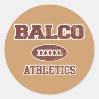 Balco Athletics Classic Round Sticker