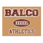 Balco Athletics Post Card