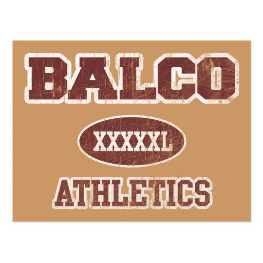 Balco Athletics Postcard
