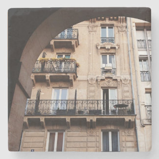 Balcón parisiense posavasos de piedra
