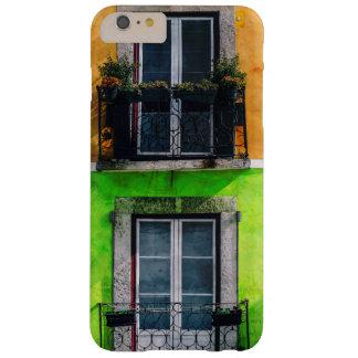 Balcones del apartamento del vintage funda para iPhone 6 plus barely there