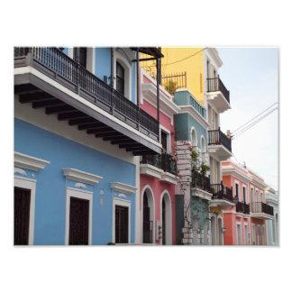Balcones, San Juan viejo, Puerto Rico Fotografía