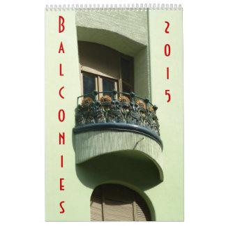 Balconies - Calendar - 2015