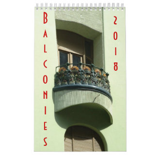 Balconies - Calendar - 2018