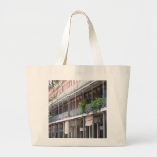 Balconies in the French Quarter Large Tote Bag