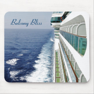 Balcony Bliss Mouse Pad