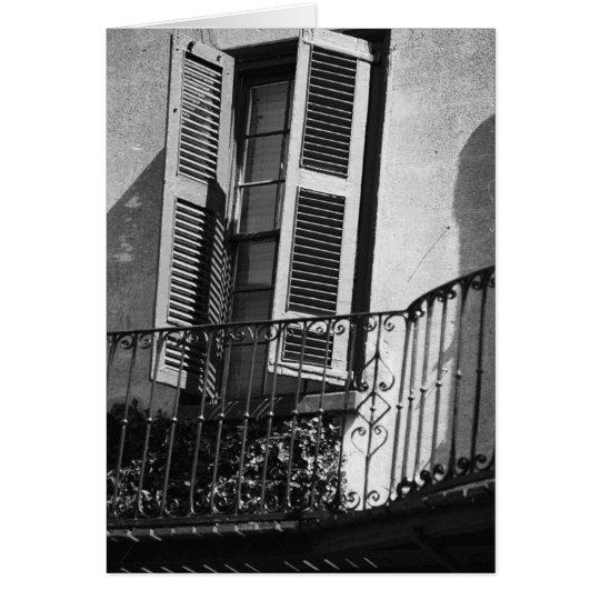 Balcony Card