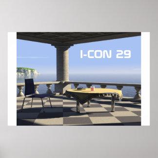 balcony, I-CON 29 Print