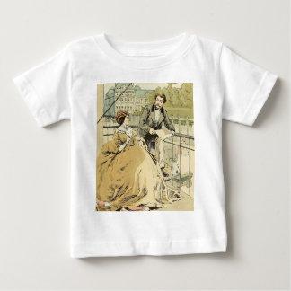 Balcony in Rue de Rivoli 1864 Baby T-Shirt