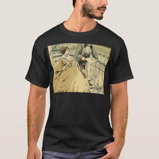 Balcony in Rue de Rivoli 1864 T-Shirt