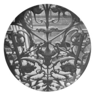 Balcony Iron Grate Plate
