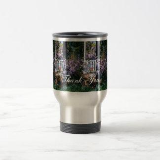 Balcony Lupins Travel Mug