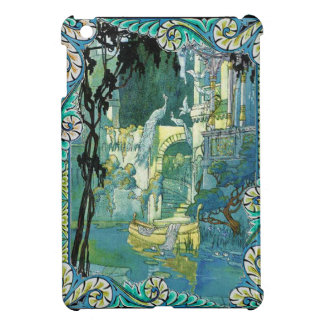 Balcony of Peacocks iPad Mini Covers