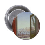 Balcony Room with a View of the Bay of Naples Pinback Button