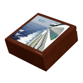 Balcony Row Cruising Monogrammed Gift Box