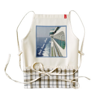 Balcony Row Personalized Zazzle HEART Apron