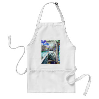 Balcony With A View Adult Apron