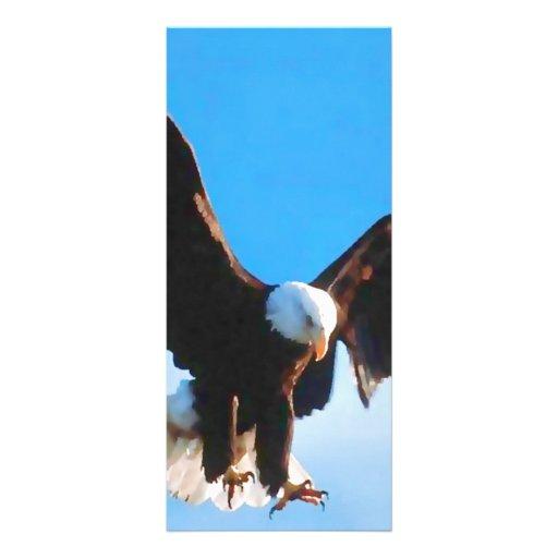 Bald American Eagle Custom Rack Card