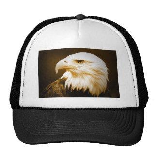 Bald American Eagle Eye Trucker Hat