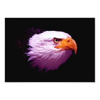 Bald American Eagle Invitation - Eagle Invites