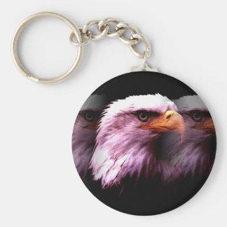 Bald American Eagle Key Chains