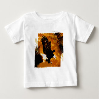Bald American Eagle Landing Baby T-Shirt