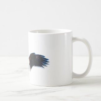 Bald American Eagle Landing Coffee Mug