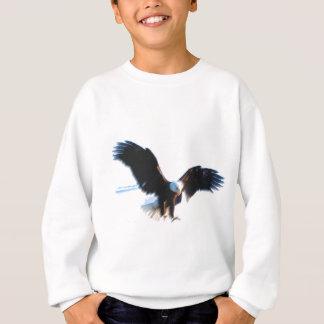 Bald American Eagle Landing Sweatshirt