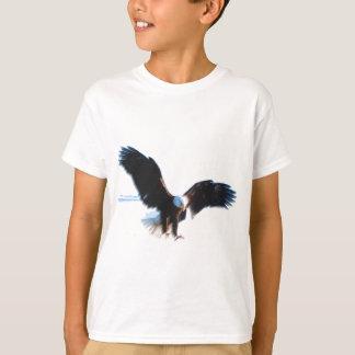 Bald American Eagle Landing T-Shirt