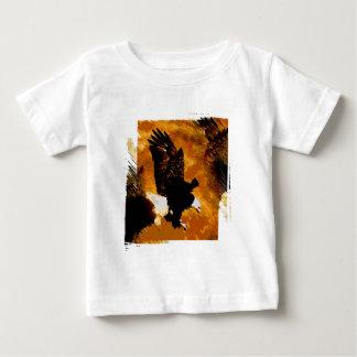 Bald American Eagle Landing T-shirts