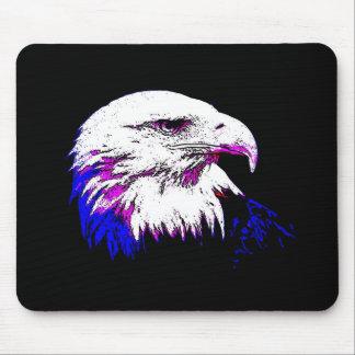 Bald American Eagle Mouse Pad