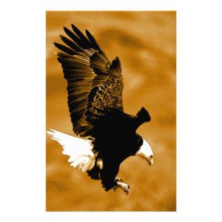 Bald American Eagle Stationery