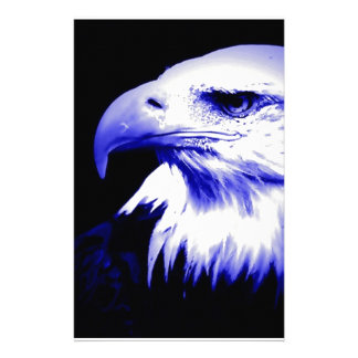 Bald American Eagle Stationery Paper