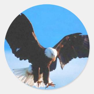 Bald American Eagle Stickers