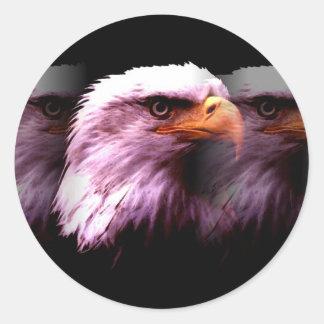 Bald American Eagle Sticker