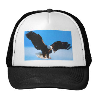 Bald American Eagle Trucker Hat