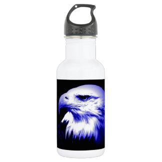 Bald American Eagle Water Bottle