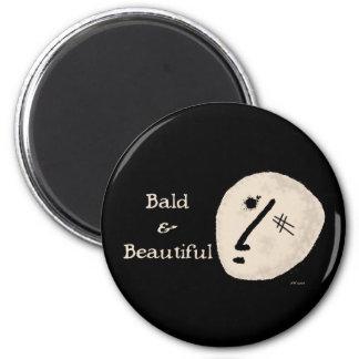 Bald & Beautiful Magnet