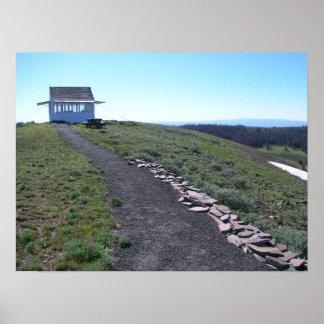 Bald Butte Fire Lookout Poster