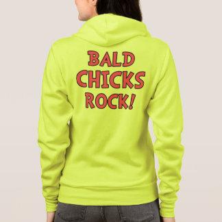 Bald Chicks Rock - Cancer Awareness Hoodie