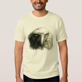 Bald Eagel Face Tee Shirt