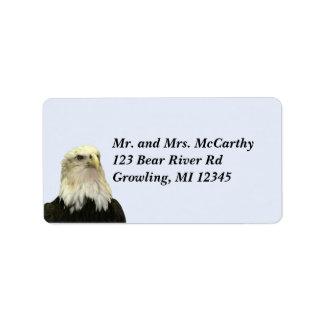 Bald Eagle Address Avery Label