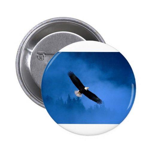 Bald-Eagle-Alaska Button