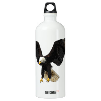 Bald Eagle Aluminum Water Bottle