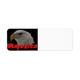 Bald Eagle - America Label