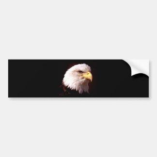 Bald Eagle American Eagle Bumper Sticker