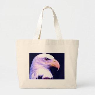 Bald Eagle - American Eagle Large Tote Bag